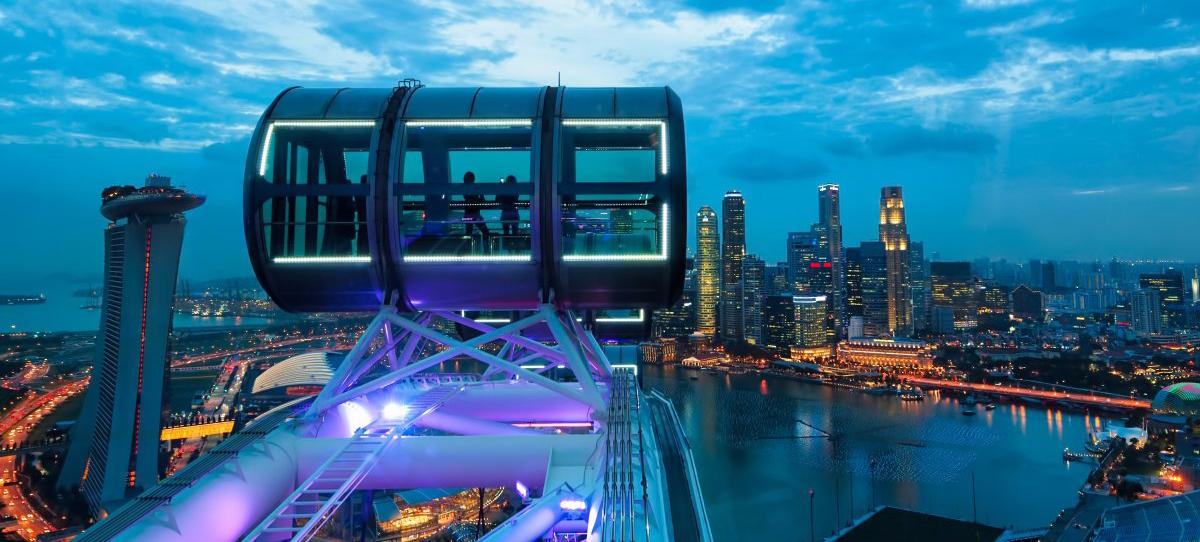 Địa điểm tham quan tạ Singapore