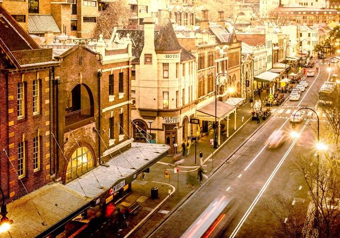 The Rocks – Mũi đá lịch sử, nơi gắn liền với lịch sử ra đời của Thành Phố Sydney và nước Úc