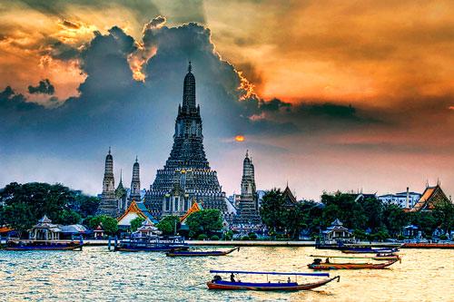 Đi dạo Thuyền trên dòng sông Huyền thoại Chao Praya: Xem thuyền Rồng của nhà vua, xem hiện tượng cá nổi trên sông, tham quan Chùa Wat Arun - Một di sản văn hóa thế giới