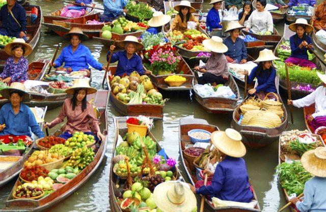 Chợ nổi bốn miền (Pattaya Floating Market)