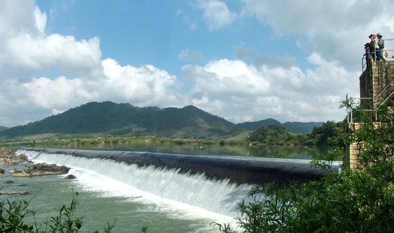 Đập Đồng Cam -địa danh nổi tiếngcủa Phú Yên