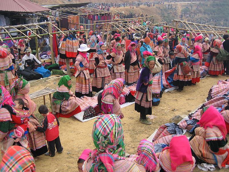 Sapa là nơi có nền văn hoá đa dạng bởi nhiều dân tộc sinh sống