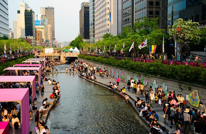 Suối Cheonggyecheon